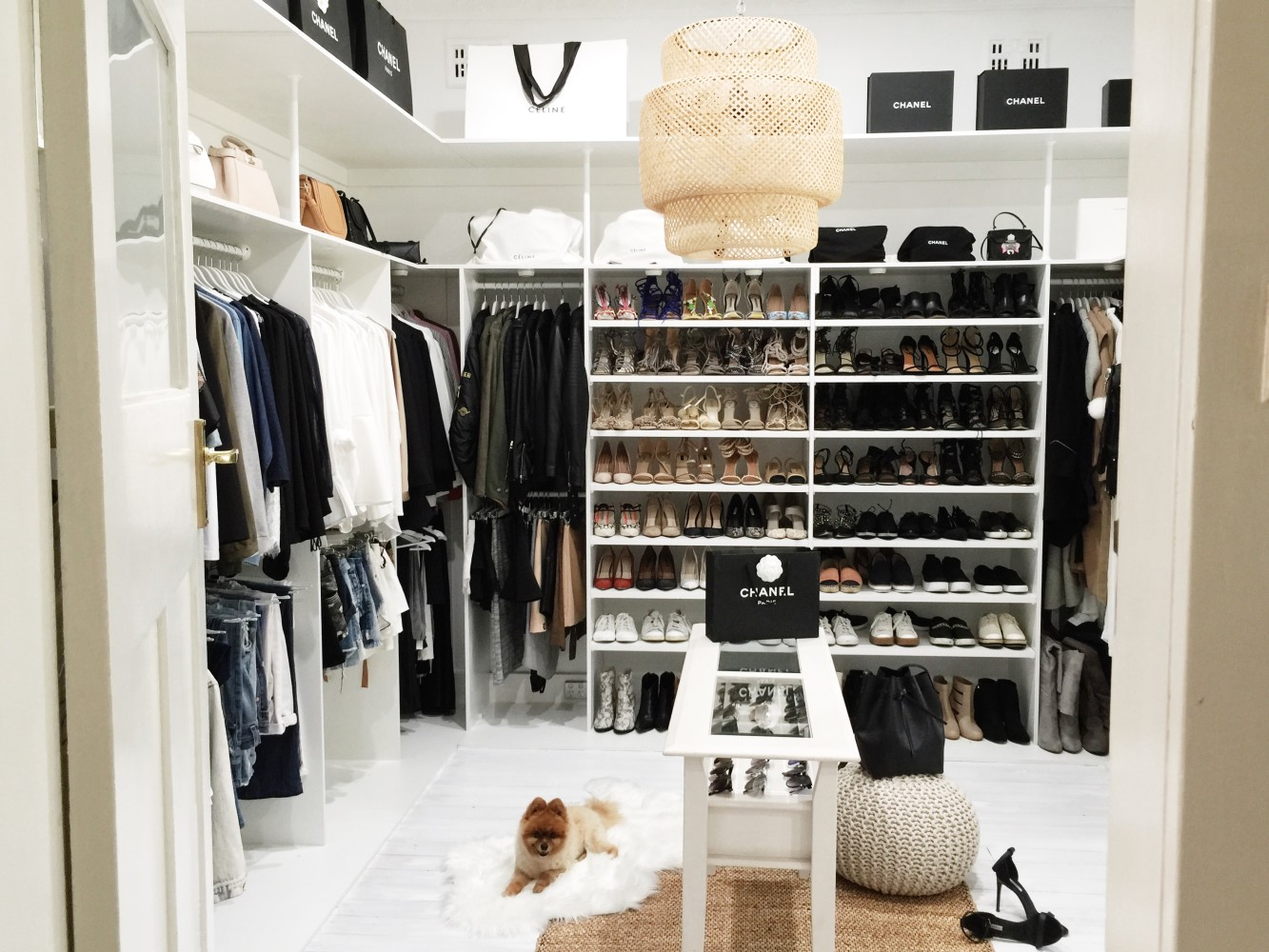 How to create your own dream walk-in wardrobe