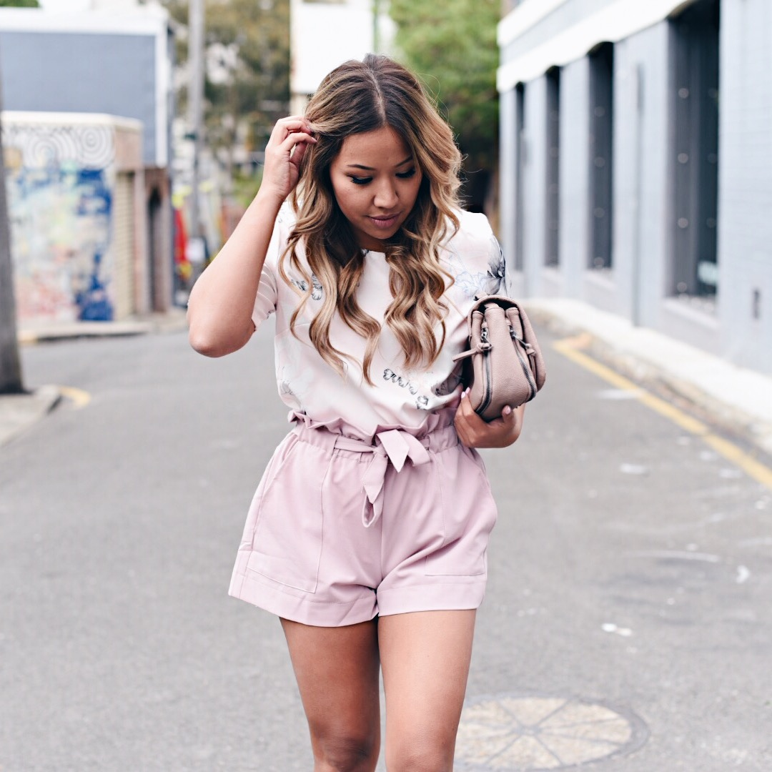 Showpo ROLE MODEL TOP IN BLUSH
